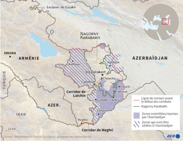 Haut-Karabagh, Jardin noir du Caucase